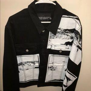 *RARE* Calvin Klein Andy Warhol denim jacket